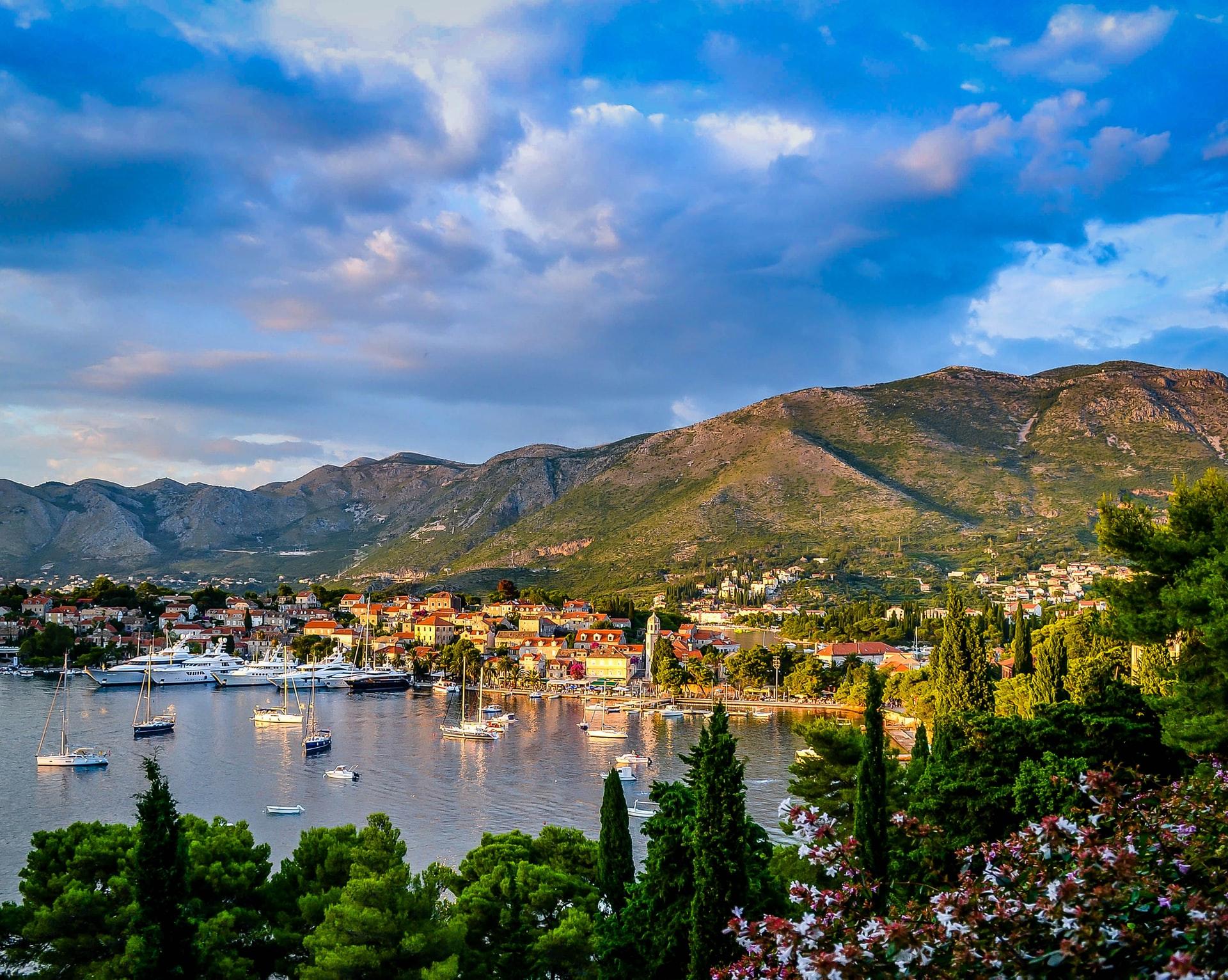 Romantische Heirat in Kroatien