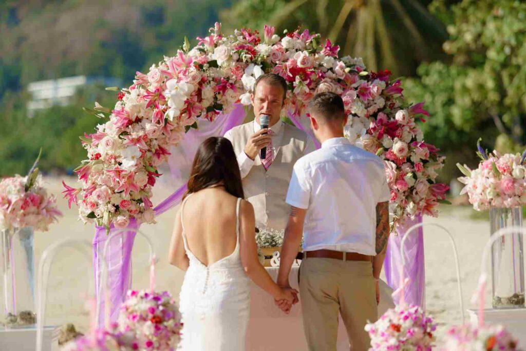 Freie Trauung - Hochzeitszeremonie