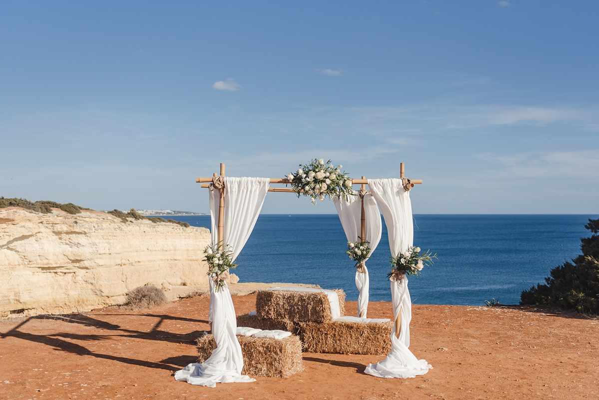 Hochzeit in Portugal - Traubogen