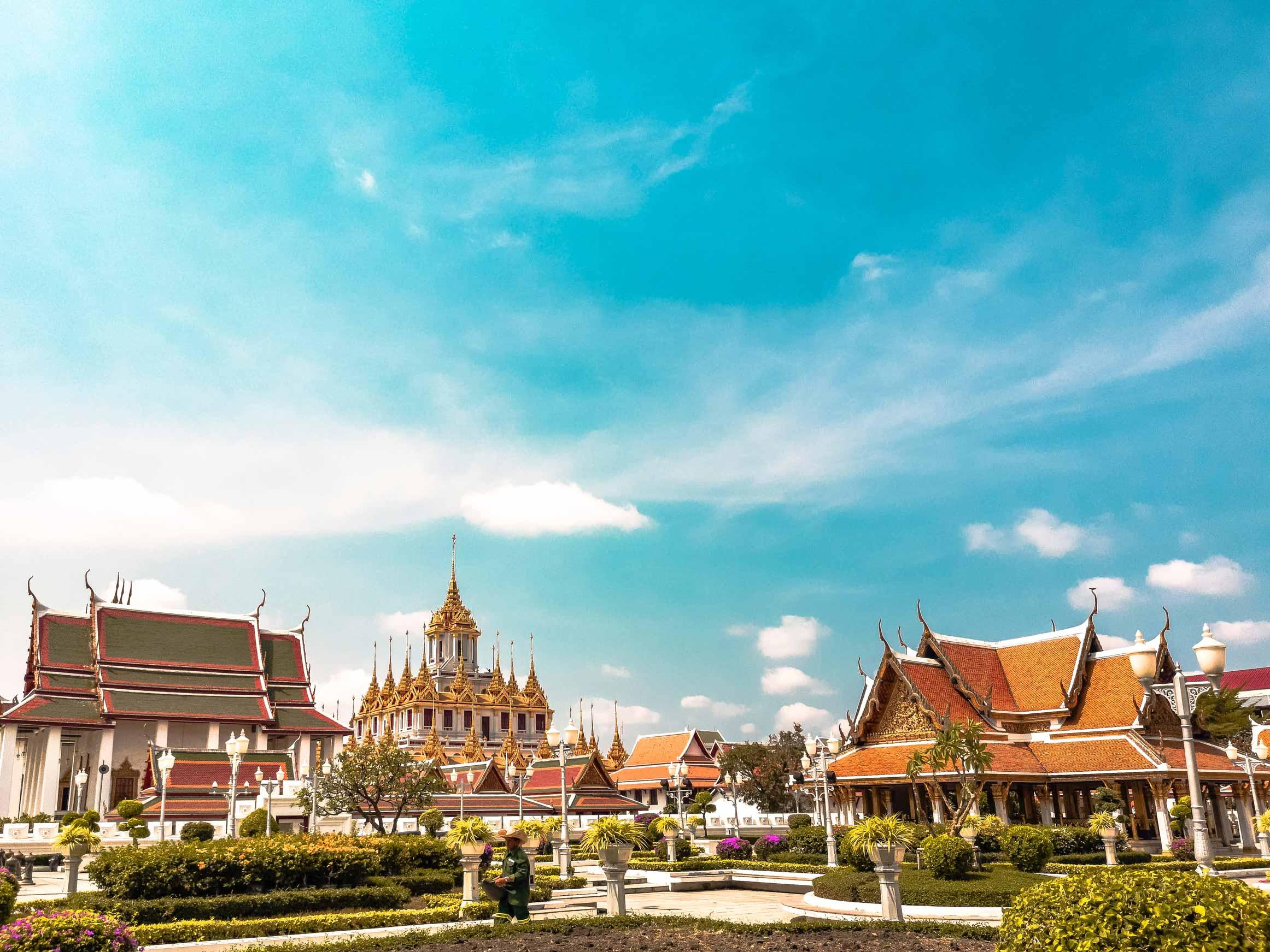 Bangkok-Koenigspalast-Sightseeing